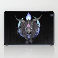 baphomet iPad Cases featuring Baphomet V2 by Savannah Horrocks