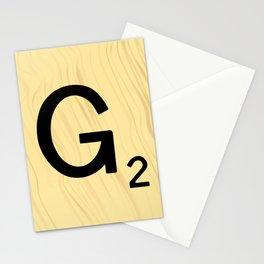Scrabble G Decor, Scrabble Art, Large Scrabble Prints, Word Art, Accessories, Apparel, Home Decor Stationery Cards