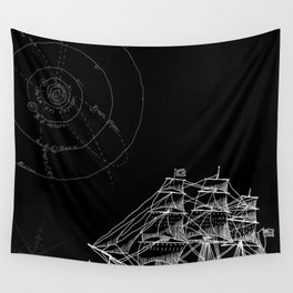 If Time Is My Vessel Wall Tapestry