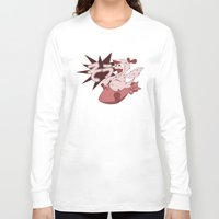 scandal Long Sleeve T-shirts featuring Pop Porn Scandal! by Department M