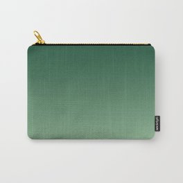 Green Ombre Carry-All Pouch
