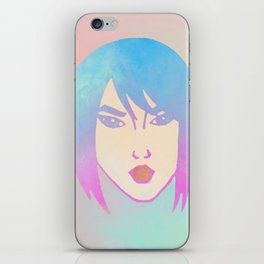 Punk Girl iPhone Skin