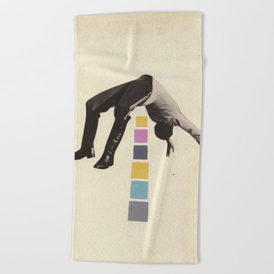 High Jump Beach Towel