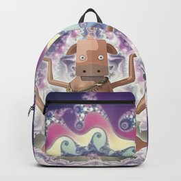 Psicodelic Cow's Inspiration Backpack