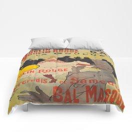 Vintage poster - Toulouse Lautrec Comforters