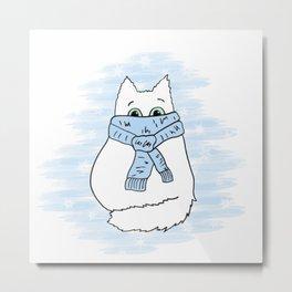 Cartoon cat. Metal Print