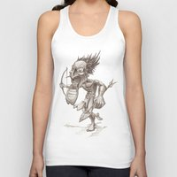 warrior Tank Tops featuring Warrior by Shane Acuff