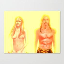 Mischa and Iggy Canvas Print