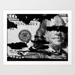 DONT JUDGE Art Print
