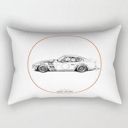 Crazy Car Art 0001 Rectangular Pillow