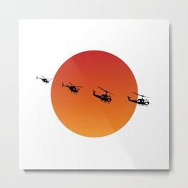 Apocalypse Now Illustration Metal Print