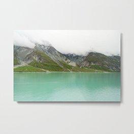 Pristine Alaska Glacier Bay National Park Metal Print