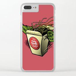 The Flying Noodle Takeaway Company Clear iPhone Case