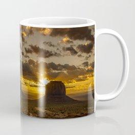 Monument Valley - Vivid Sunrise Coffee Mug