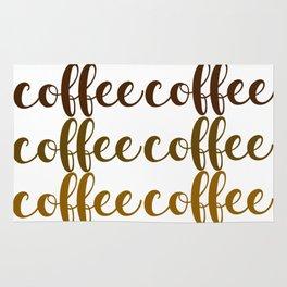 COFFEE COFFEE COFFEE Rug