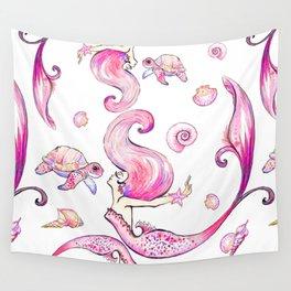 The Joyful SIren Wall Tapestry