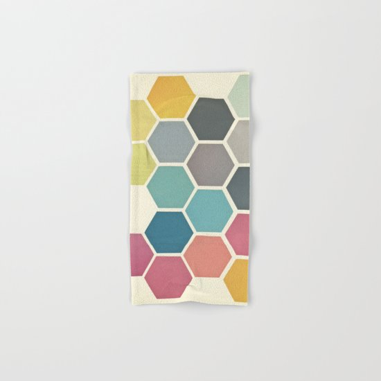 Honeycomb II Hand & Bath Towel