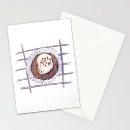 Chocolate Overload Cupcake Stationery Cards