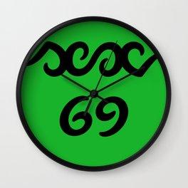Funny sex 69 ambigram Wall Clock