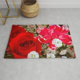 Dianthus and the Rose Rug