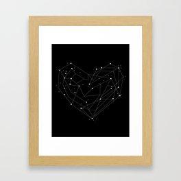 Constellations of the Heart Framed Art Print