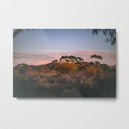 Morning in the Outback Metal Print
