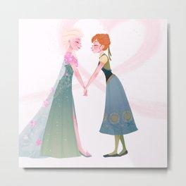Frozen Fever - Anna Metal Print