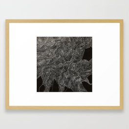 An Ode To You ... When Particles Align Framed Art Print