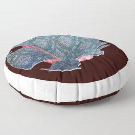 Glassball Vintage Floor Pillow