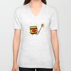 Vegemite Honey Unisex V-Neck