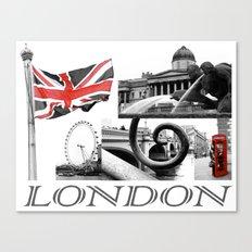 London Reds Canvas Print