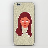 buffy the vampire slayer iPhone & iPod Skins featuring Buffy Summers - Buffy the Vampire Slayer by Kuki