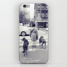 don't walkies... iPhone & iPod Skin
