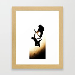 Free Fall I Framed Art Print