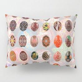 Pysanky Easter Eggs Pillow Sham