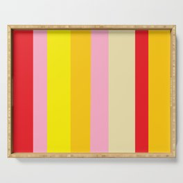 Bold Color - RED, YELLOW, AND PINK Serving Tray
