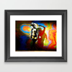 Acid / Bass Framed Art Print