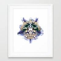 logo Framed Art Prints featuring logo by Alexandr Nishikin