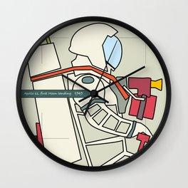 Astronaut 1969 Wall Clock