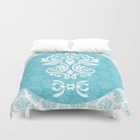 damask Duvet Covers featuring Damask by VanyNany