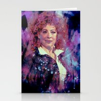 river song Stationery Cards featuring River Song by Sirenphotos