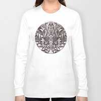 cheshire cat Long Sleeve T-shirts featuring Cheshire by IRIS Photo & Design