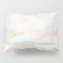 Golden Hour - Pastel Seascape Pillow Sham