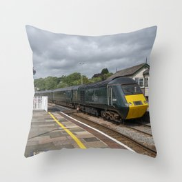 Lostwithiel Station  Throw Pillow