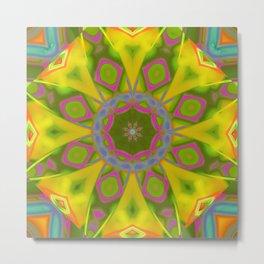 Abstract Flower AAA R Metal Print