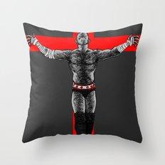 In Punk We Trust Throw Pillow