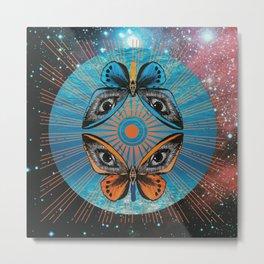 mariposa galactica Metal Print