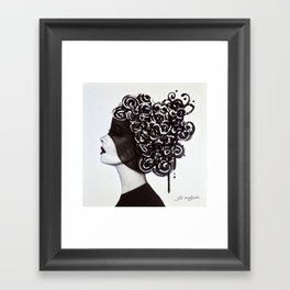 Right of Passage Framed Art Print