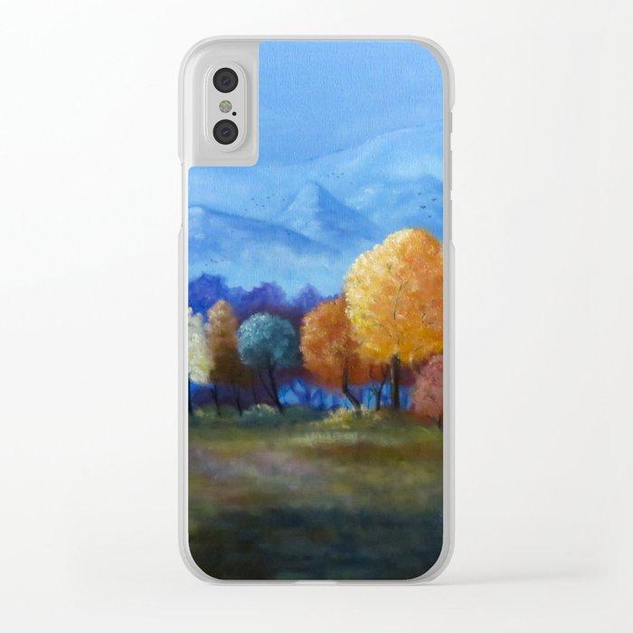 Ljossalfheim Clear iPhone Case