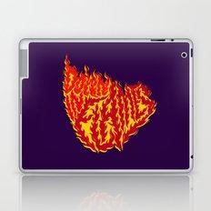 Down in Flames Laptop & iPad Skin